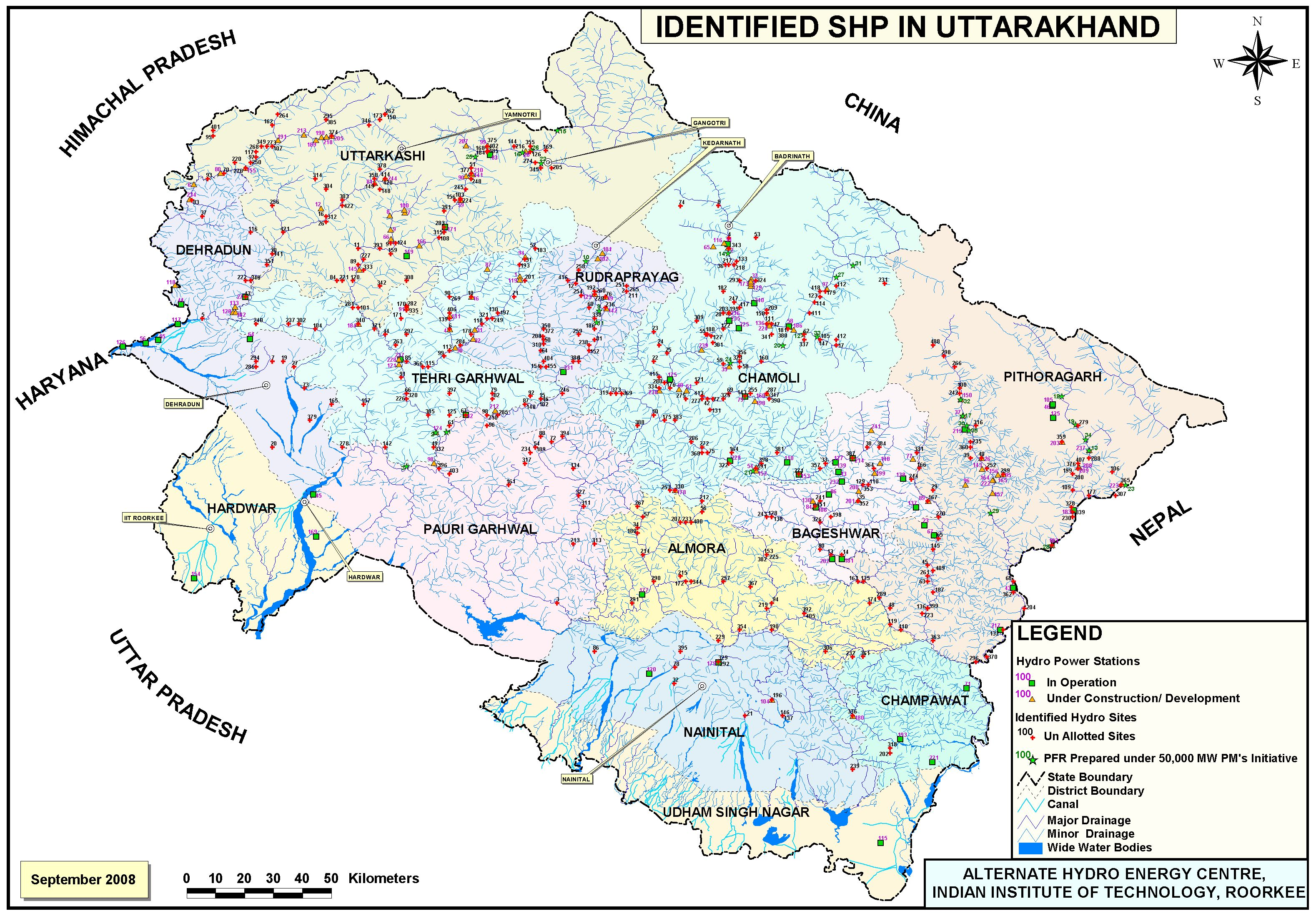 water for welfare maps